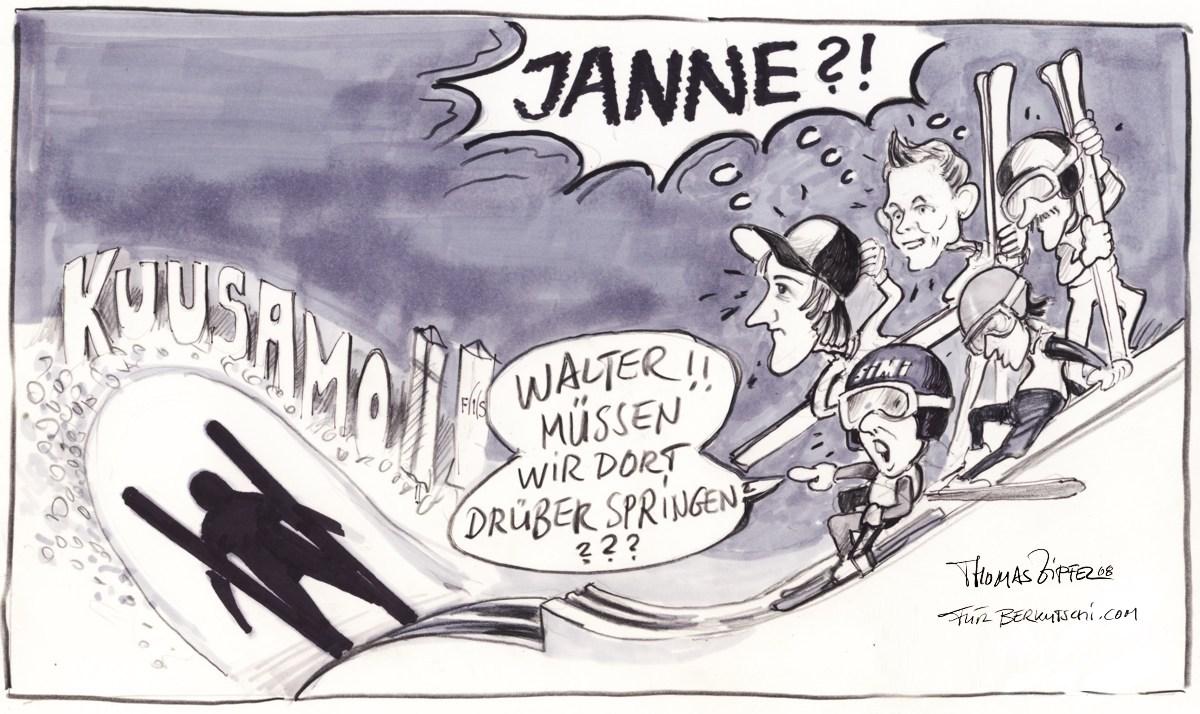 Der lange Schatten des Janne A.