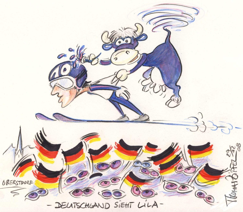 Deutschland sieht lila
