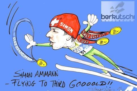 Simon ammann 3.gold