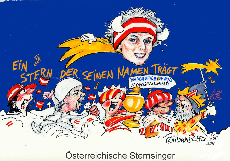 Österreichische Sternsinger