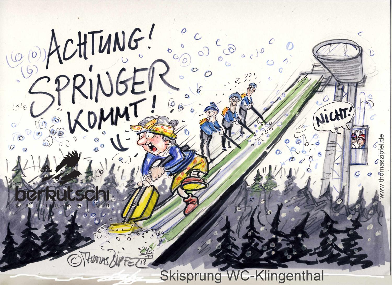 Turbulenzen in Klingenthal