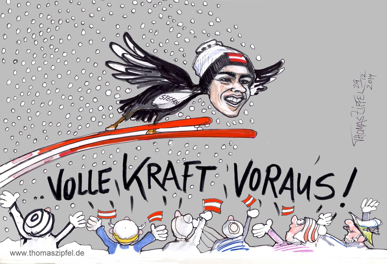Stefan Karfat gewinnt den Auftakt der 63. Vierschanzentournee