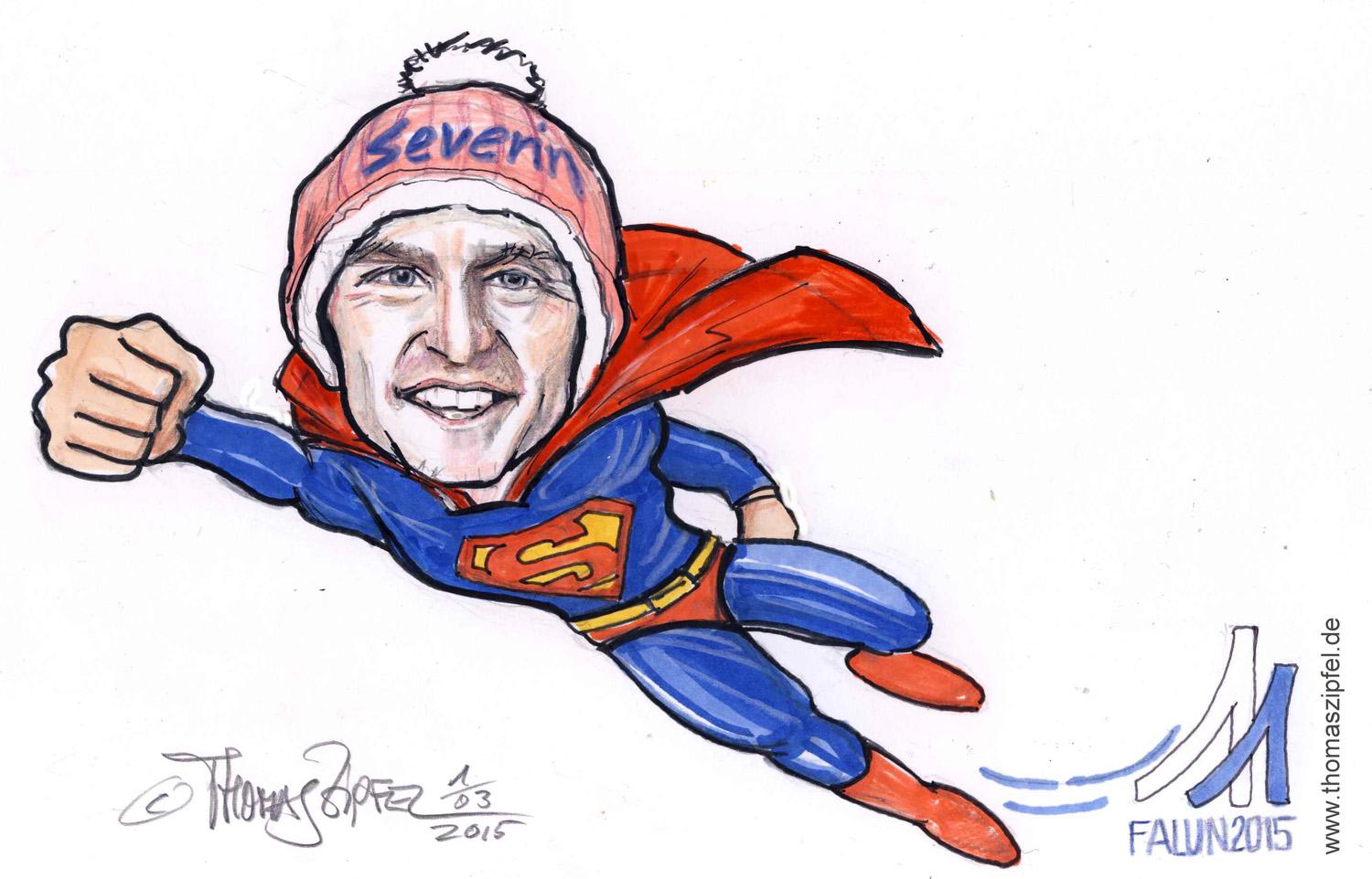 Severin Freund Superman