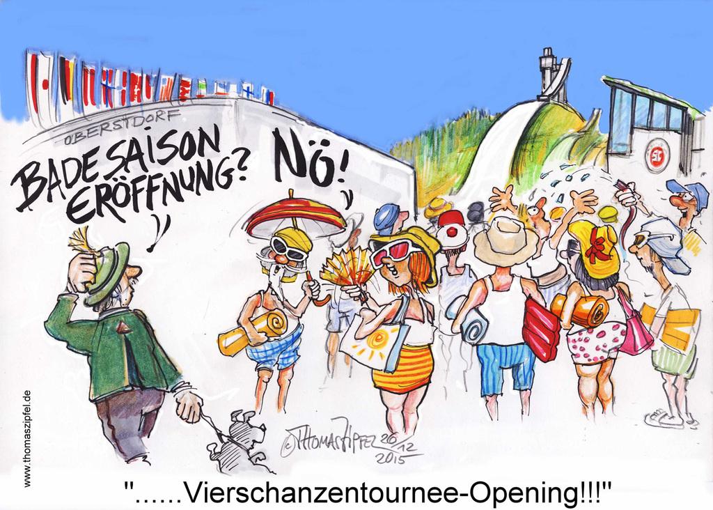 Eröffnung der Badesaison