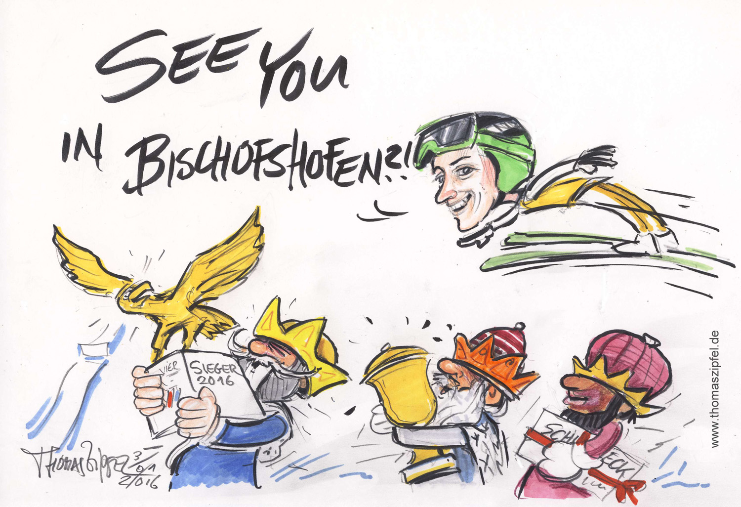 See you in Bischofshofen