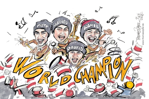 World champion polen