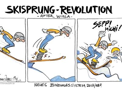 Skisprung revolution after wisla