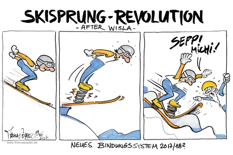Skisprung revolution after wisla