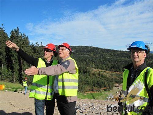 Lasse ottesen  sportdirektor und torgeir nordby  rennleiter
