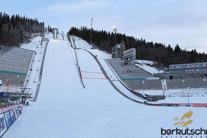 Der Skisprungzirkus macht Station am Lysgardsbakken in Lillehammer