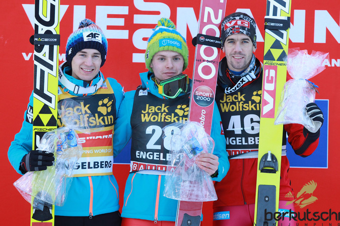 Top 3: Kamil Stoch, Jan Ziobro, Anders Bardal