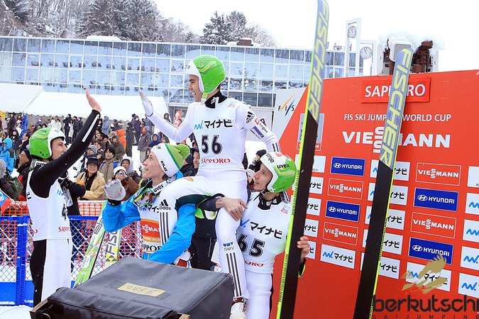 Nach vielen Jahren im Weltcup gelang Jernej Damjan sein erster Sieg