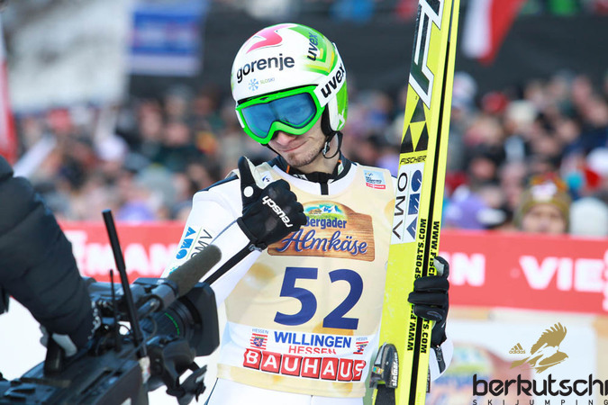 ... und Robert Kranjec