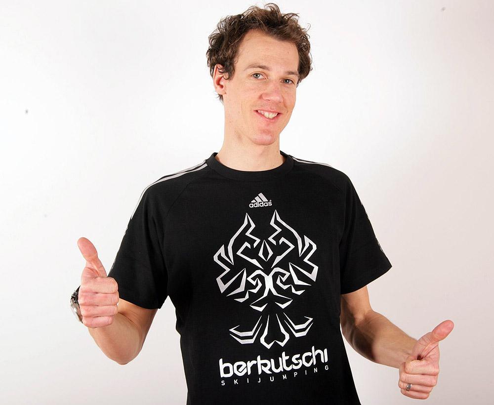 adidas berkutschi Herren T-shirt