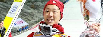 Første verdenscupseier til Kobayashi