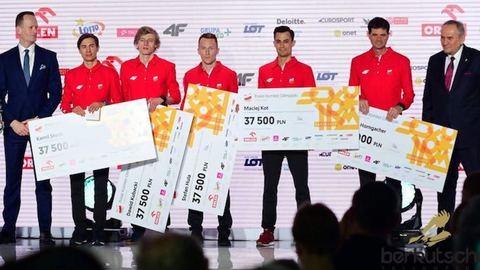 Ehrung für Team Polen