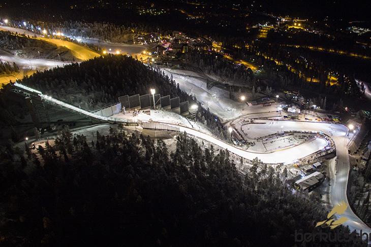 Rukatunturi schanze ruka skispringen