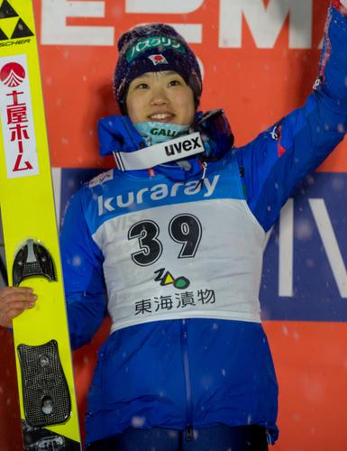 Юки Ито выиграла домашнее соревнование в Зао