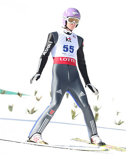 Skispringen in Pyeongchang | Wellinger Zweiter bei Olympia-Generalprobe