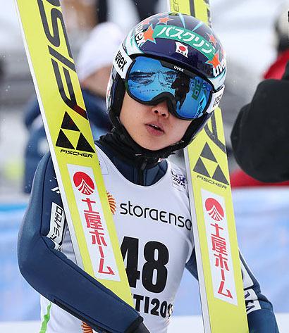 W杯女子オスロ大会 公式練習で日本勢が最長ジャンプ