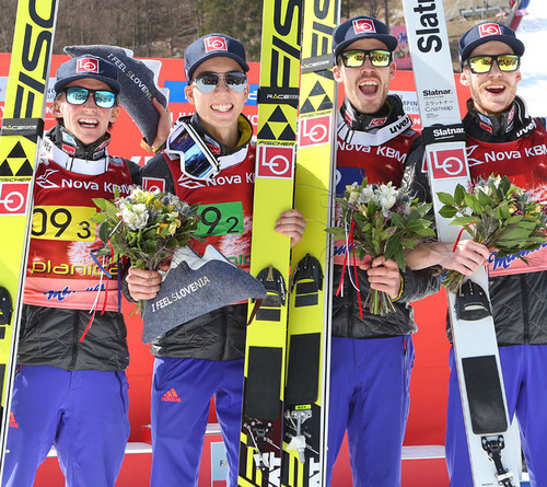 Norwegen bestes Team in Planica