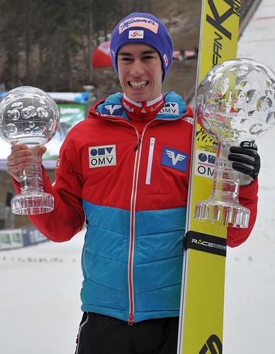 Штефан Крафт - победитель Кубка мира 2016/17