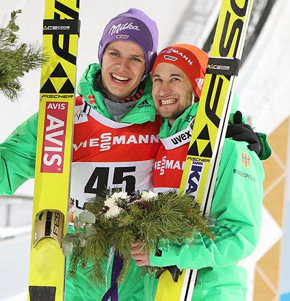 Německo nominovalo skokany na olympijskou sezonu
