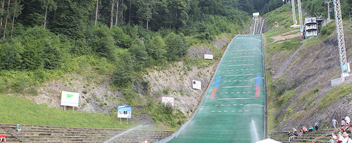 COC Skispringen in Kranj live