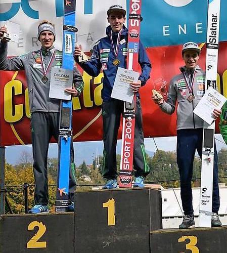 Timi Zajc überrascht bei slowenischen Meisterschaften