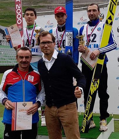 Zwei Meistertitel für Denis Kornilov