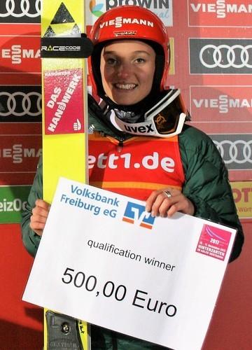 Катарина Альтхаус победила в квалификации