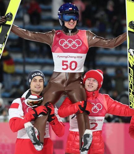 Teamspringen Unsere Adler fliegen zu Olympia-Silber
