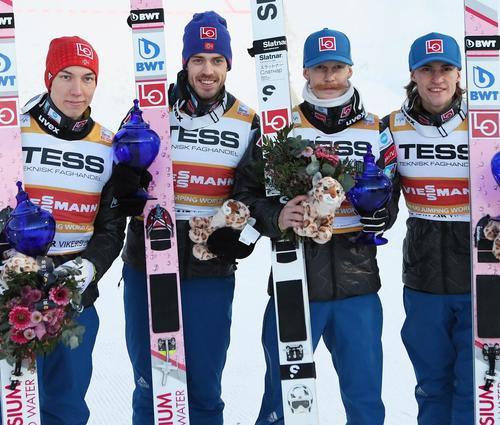 Kamil Stoch sichert sich in Vikersund den Gesamtsieg
