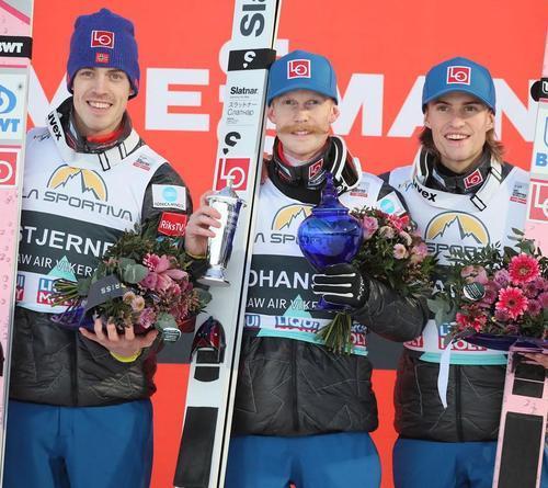 Norweger holen Dreifachsieg, Stoch die Titel