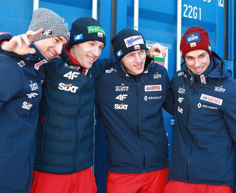 Шесть спортсменов в польской команде А