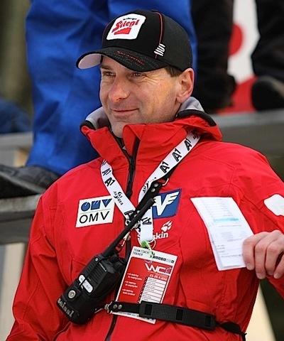 Харальд Родлауэр - тренер женской команды Австрии