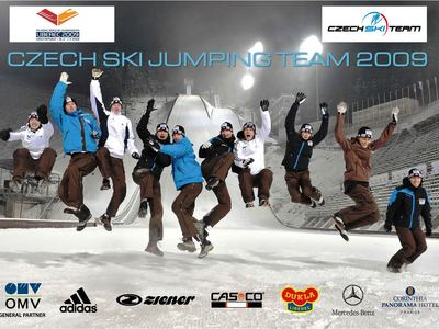 Czech ski jumping team wm2009