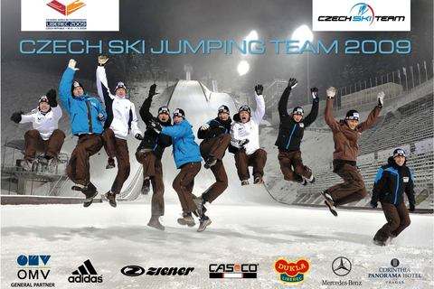 Czech_ski_jumping_team_wm2009