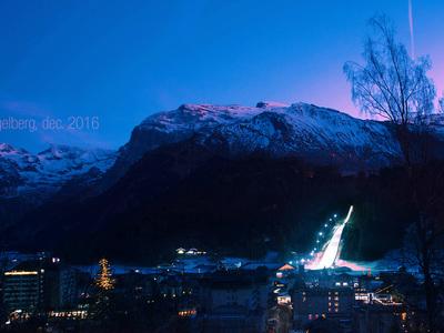 Engelberg schanze skispringen