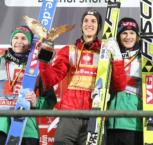 Gregor Schlierenzauer gewinnt die Tournee