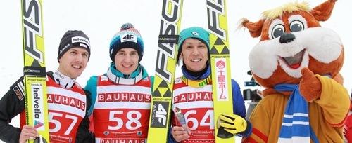 Kamil Stoch mit ersten Saisonsieg