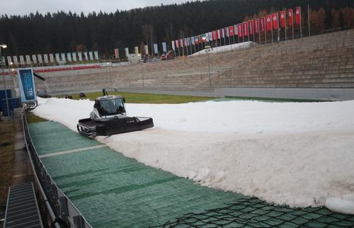 Klingenthal fast bereit für Weltcup-Opening