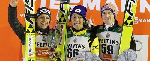 Ammann und Kasai teilen sich den Sieg in Kuusamo