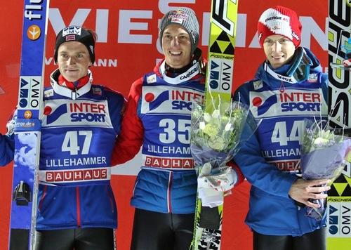 Schlierenzauer gewinnt schwierigen Wettkampf in Lillehammer