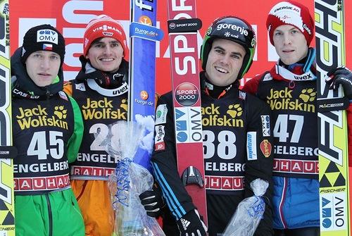 Sieg für Richard Freitag in Engelberg