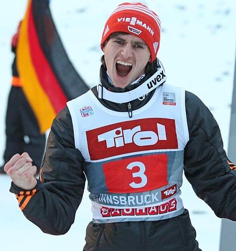 Richard Freitag gewinnt am Bergisel