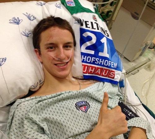 Nick Fairall erleidet Rückenverletzung