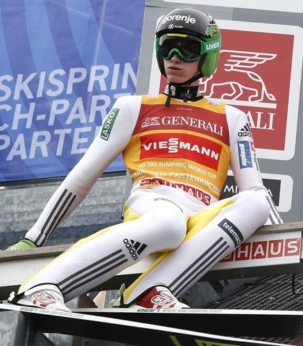 Peter Prevc Quali-Sieger in Garmisch