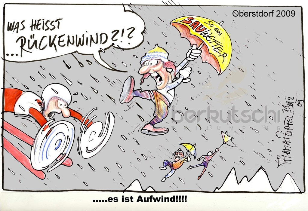 Oberstdorf Rueckenwind