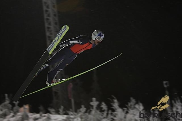 physics coursework ski jumping
